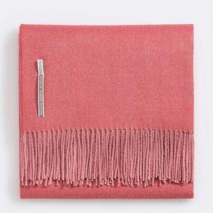 New Alicia Adams Alpaca Herringbone Throw Blanket